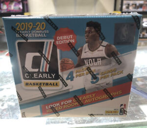 2019-20 Clearly Donruss Basketball Hobby Box | Zion Ja Rated Rookie Auto? 🔥🔥🔥