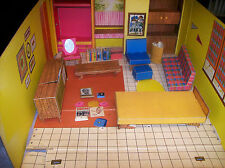 Vintage Barbie Dream House 1962 Mattel furniture accessories fold and carry