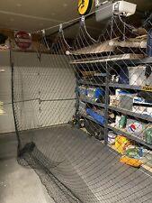 Retractable Indoor Sports Net, Batting Cage for Garage or Basement