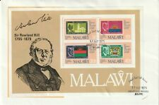 MALAWI 1979 ROWLAND HILL CENTENARY SOUVENIR SHEET ON FIRST DAY COVER