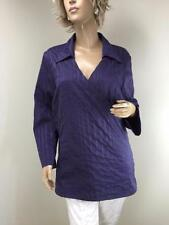 Taking Shape 3/4 Sleeve Striped Tops for Women