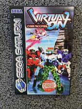 Virtual-On Cyber Troopers   Sega Saturn   Complete   PAL