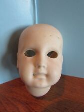"Vintage  BISQUE DOLL HEAD PARTS 3"" c"