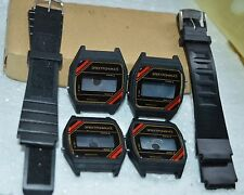 $ RARE SOVIET Russian WATCH ELEKTRONIKA 5 CASE BLACK bracelet Electronika parts