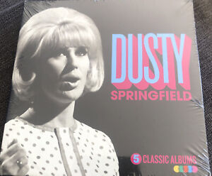 DUSTY SPRINGFIELD 5 CLASSIC ALBUMS [5 CD NEW Box Set.With Love, Memphis