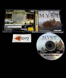 MYST Sega Saturn SS JAP