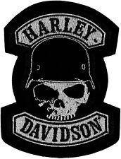 """Harley-Davidson Aufnäher, Emblem """"SPIKE"""" Patch Skull  *EM786062*"""