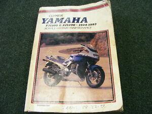 CLYMER SERVICE, REPAIR, MAINTENANCE #M397 YAMAHA FJ1100-FJ1200