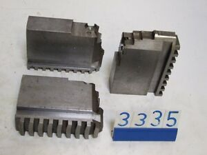 3 TEC EP25  chuck jaws for lathe(3334)