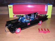 CORGI 267 sont d roue 'Whizzwheels Batmobile & Boîte-MAGNIFIQUE!