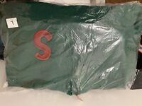BRAND NEW Supreme S Logo Hooded Sweatshirt Hoodie Dark Green SIZE L READYTOSHIP