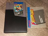 Freedom Force w/Manual & Sleeve Nintendo Nes Cleaned & Tested Authentic