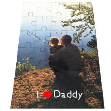 Custom ValentinesDay  Photo Jigsaw Puzzle 30 Pieces / Hard Board/ Add Your Photo