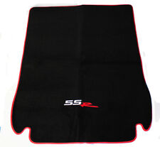 NEW! 2003 - 2006 Chevy SSR Cargo Mat Black Embroidered SSR Logo with Red Binding