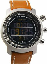 Suunto Elementum Terra Watch, Negative Brown Leather, Date & month, SS018733000