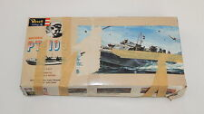 1965 REVELL YOUNG MODEL BUILDERS CLUB MAIL IN 1/72 SCALE MODEL PT-109 R9884