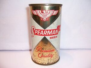 1950's Spearman Flat Top Beer Can Brewed in Pensacola, FL  Mississippi Tax Lid