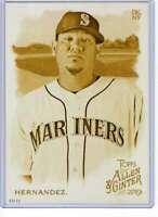 Felix Hernandez 2019 Allen and Ginter 5x7 Gold #57 /10 Mariners