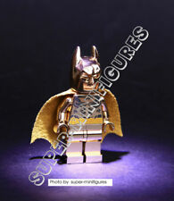 Lego Batman Super Heroes Gold minifigure  (lego custom)
