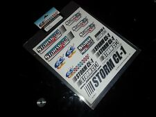 GS RACING CL053 stickers Storm CL-1