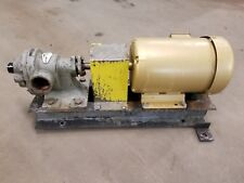 RotoFluid FT200 Rotary Gear Pump, 60 GPM, 3 Phase, 3 HP Baldor TEFC