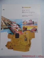 1981 Caterpillar 3512 Marine Engine Diesel Industrial Brochure Vintage Original