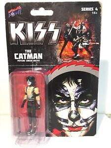 "Peter Criss - The Catman - KISS - 3.75"" Figure - Psycho Circus Outfit - NIB"