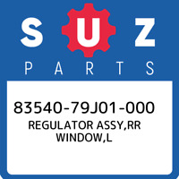 83540-79J01-000 Suzuki Regulator assy,rr window,l 8354079J01000, New Genuine OEM