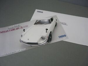 FLIER-CARD ONLY(NO CAR)-1/24-EBBRO-1969 NISSAN DATSUN FAIRLADY Z ZL (S30)