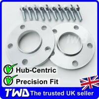 12MM ALLOY WHEEL SPACERS + BOLTS (M12X1.5) FOR BMW 3-SERIES E36 E46 E90 -2D10H38