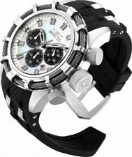 Invicta Men's 50mm Bolt White MOP Dial Chronograph Stainless Steel Watch