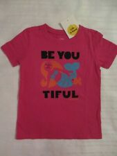 NEW GIRLS 3T TODDLER LIFE IS GOOD S/S T-SHIRT TOP BEAUTIFUL MERMAID PINK COTTON