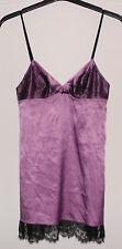 Jolie nuisette violet + dentelle noir DARJEELING T 36 TBE