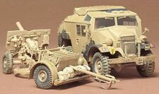 Pistola de campo 25PDR & Quad Tractor Ford FGT (British & canadiense MKGS) #44 1/35 Tamiya