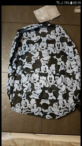 SAC à dos DISNEY MICKEY Mouse Collection Rucksack backpack Bleu & Noir