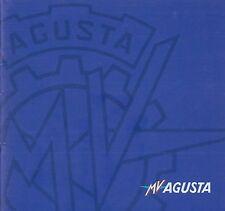 2001 MV AGUSTA F4 SERIES PROSPEKT BROCHURE CATALOGUE DEPLIANT ITALIENISCH