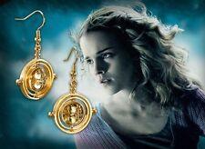 Harry Potter Time Turner Earrings, Hermione Granger, Wizarding World, Noble