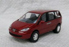 Norev 3 inches. Peugeot 807 rouge . Neuf en boite.