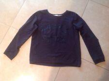 * H&M Mädchen Sweatshirt * Sweater * Grau glitzer  Gr 170-164 Zwillinge
