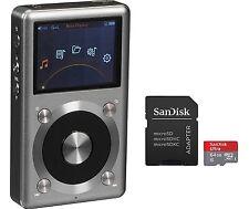 FiiO X3-II (2nd Gen) High Res Player (Titanium) & SanDisk Ultra 64GB microSDXC