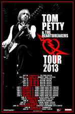 Tom Petty 2013 box office CONCERT POSTER North America