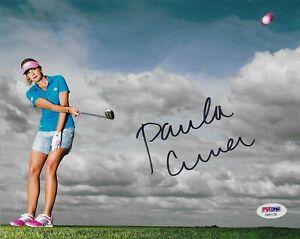 Paula Creamer Signed 8x10 Autographed PSA/DNA COA Golfer LPGA