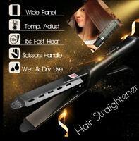 Professional Flat Iron Salon Ceramic Tourmaline Ionic Hair Straightener Glider