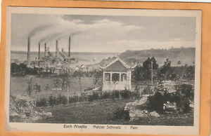 Esch sur Alzette Luxembourg 1910 Postcard