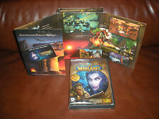 LOT 2 JEUX PC WARCRAFT + EXTENSION BURNING CRUSADE - VERSION FRANCAISE INTEGRALE