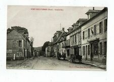 POST CARD EARLY PRINTED TITLED PONT-SAINT-PIERRE (URE)-GRAND RUE