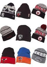 NFL MLB Beanie Bobble Hat, NYY, New York Knicks, Chicago Bulls, LA Lakers