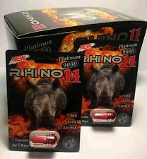 Rhino 11 Platinum 9000  Male Enhancement for Maximum Erectile 100% Authentic USA
