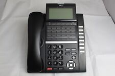 New ListingNec Itz-32Dg-3 (Bk) Ip Business Office Phone W/ Handset & Stand