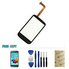 Black Touch Screen Digitizer Glass Lens Replacement For HTC Desire C A320e